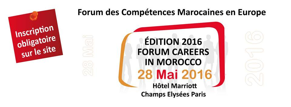 Forum Careers in Morocco Paris 2016