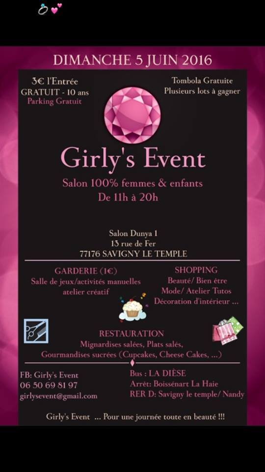 Girly's Event