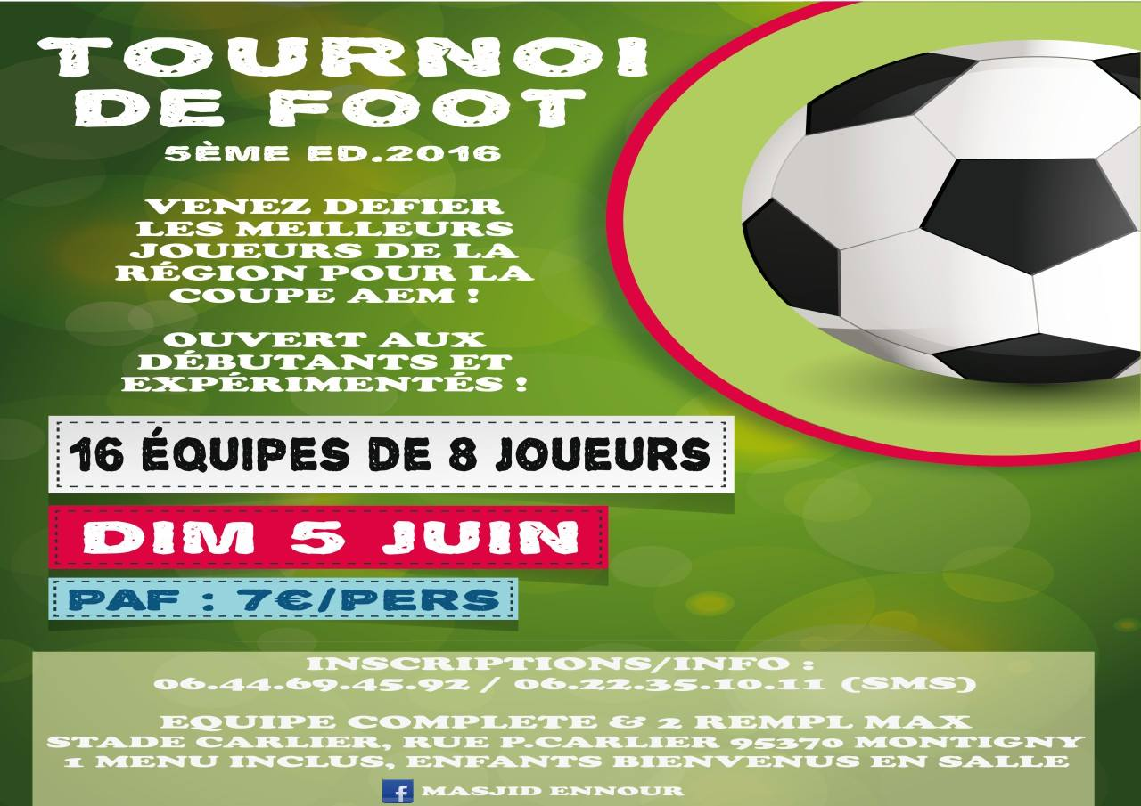 Tournoi de Football 2016