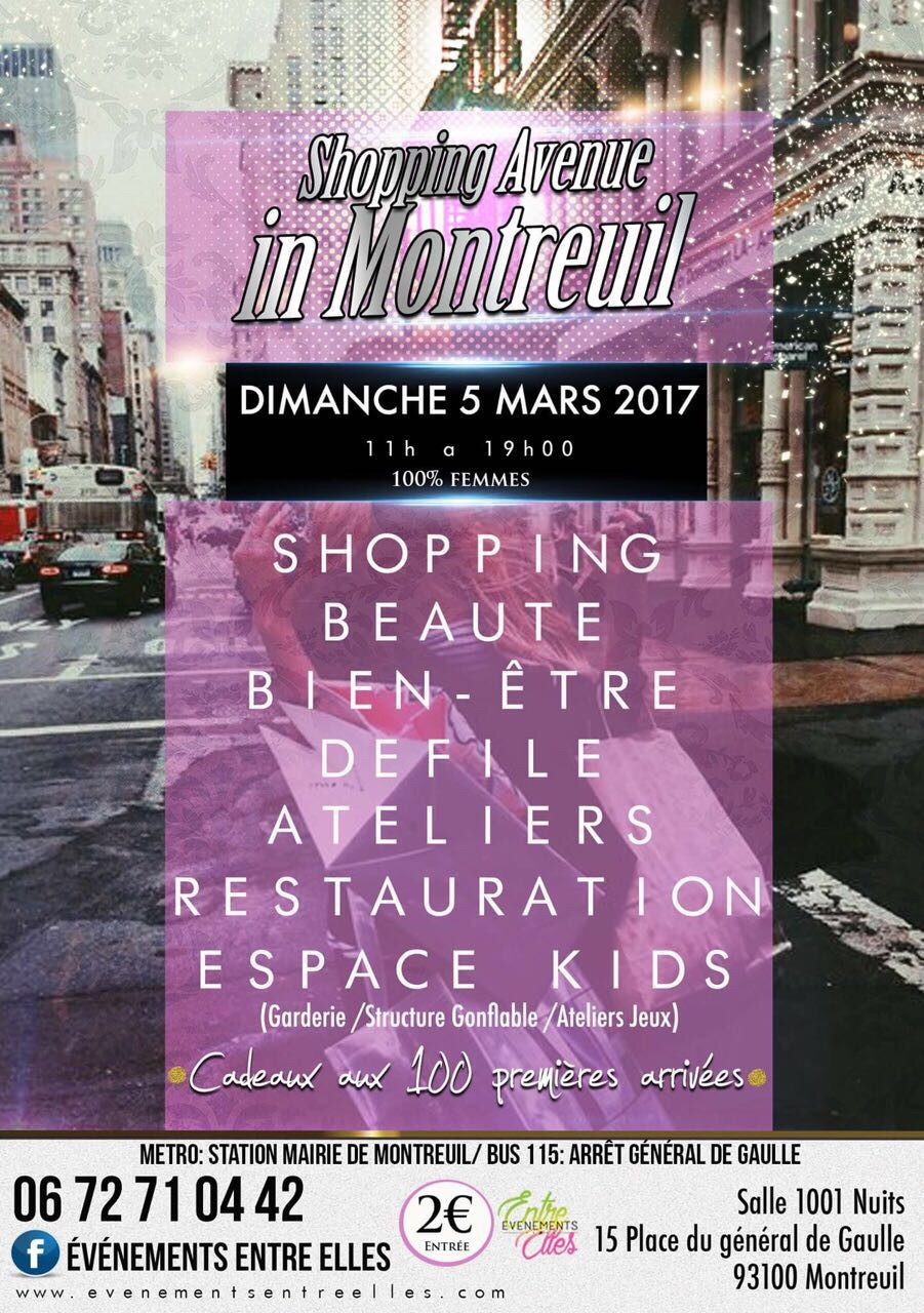 Shopping in Montreuil