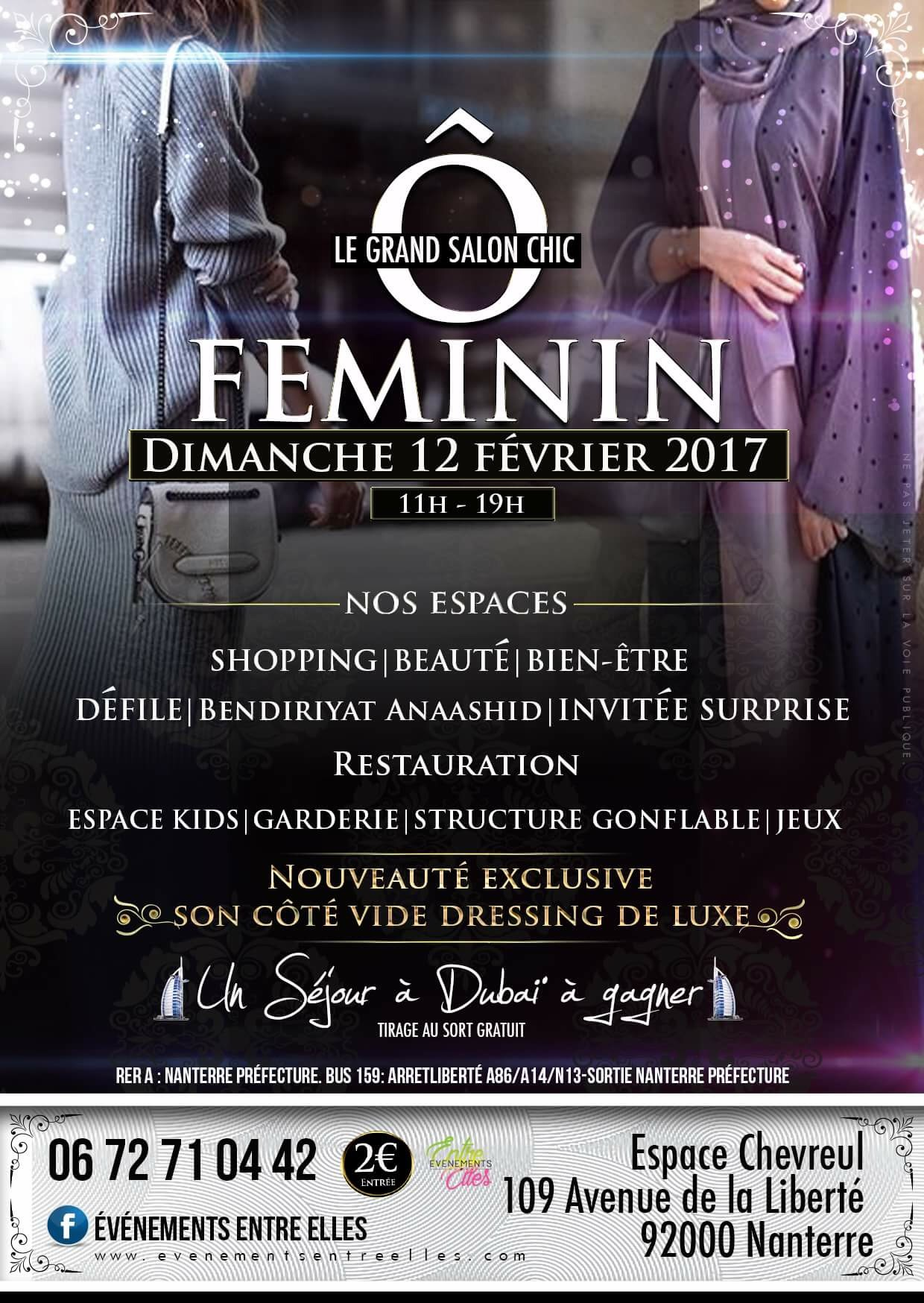 Le grand Salon Chic Ô Féminin