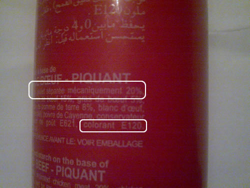 le colorant alimentaire rouge e120 nest pas halal sunna magazine - Colorant E120