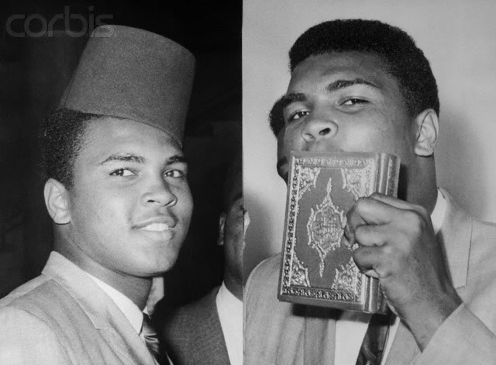 Quand mohamed ali clay a t pers cut cause de son islam - Geloof hars ...