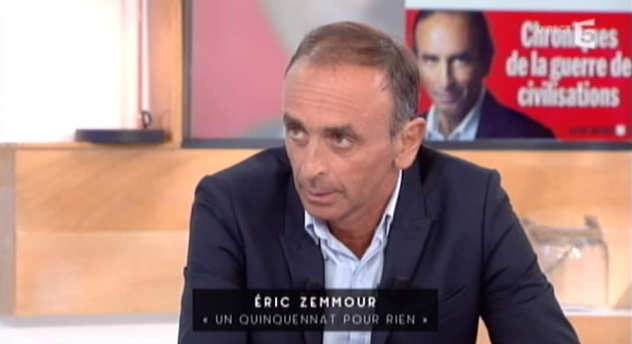quand une cha ne publique exon re les pens es d lirantes de eric zemmour. Black Bedroom Furniture Sets. Home Design Ideas