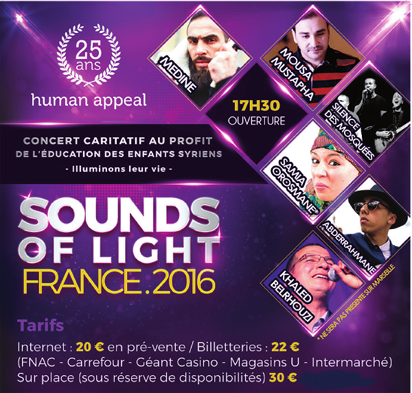 Concert Anasheed : Sounds Of Light 2016