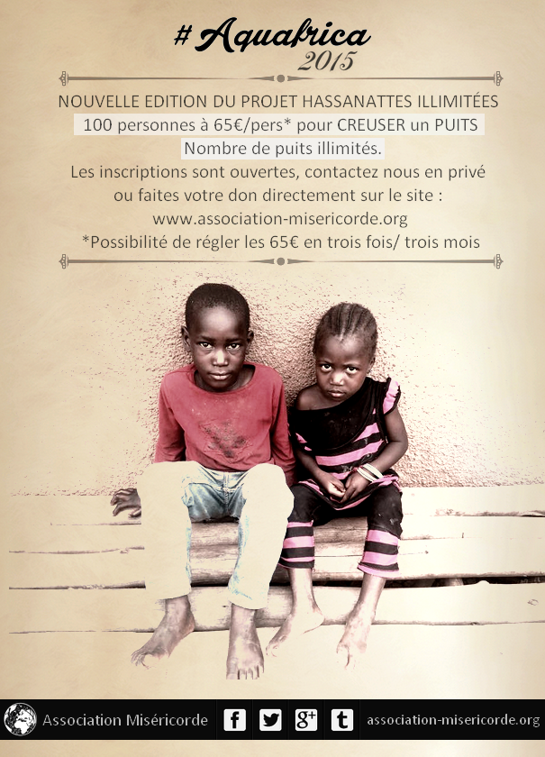 Association Miséricorde : Aquafrica 2015