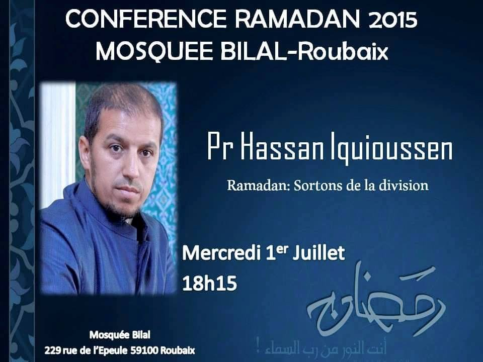 conference hassan iquioussen