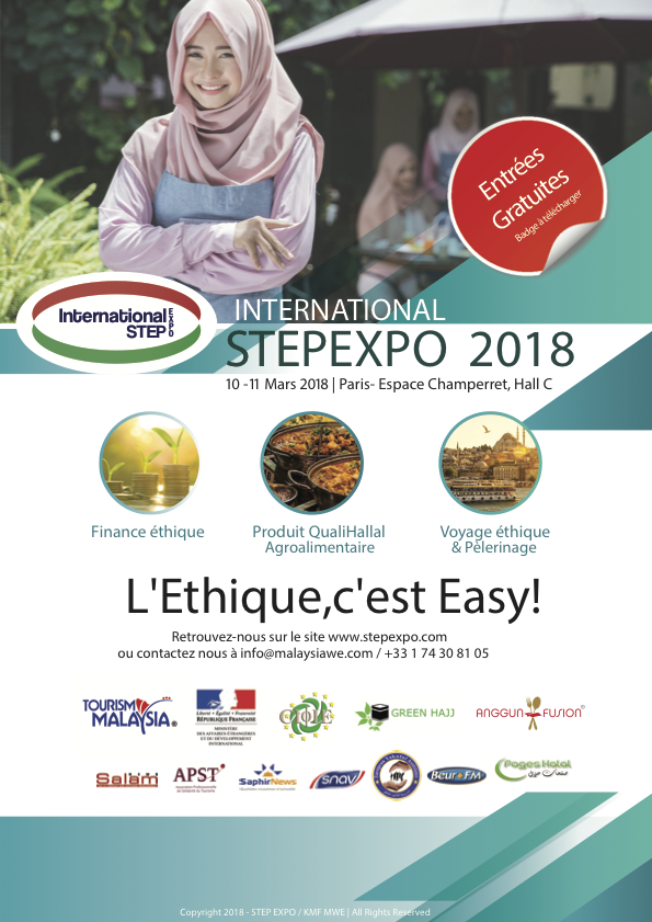 STEP Expo 2018 : le salon parisien du Hajj, du Halal et de la Finance Islamique