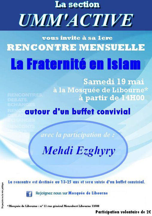 Rencontre musulman en france