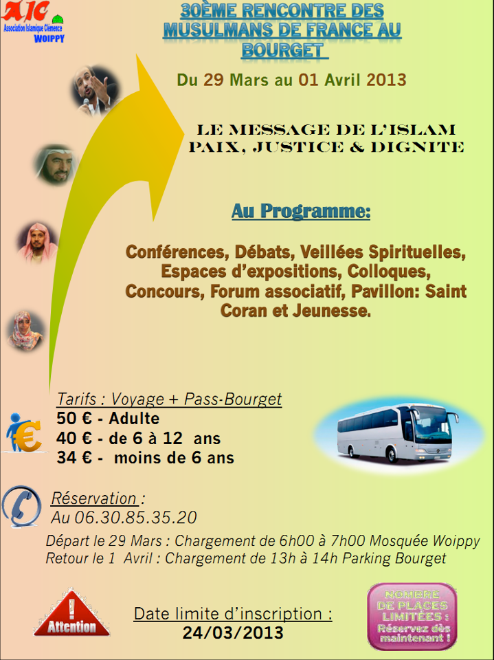 30 rencontre musulman de france