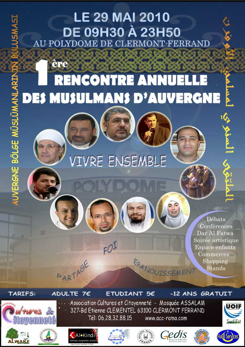 Rencontre annuelle des musulmans de france 2018 en direct