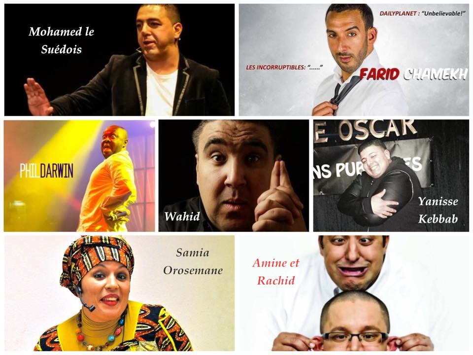 Spectacle TENDANCE COMEDIE 26 Avril LYON