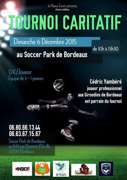 Tournoi Caritatif par IN PEACE EVENT