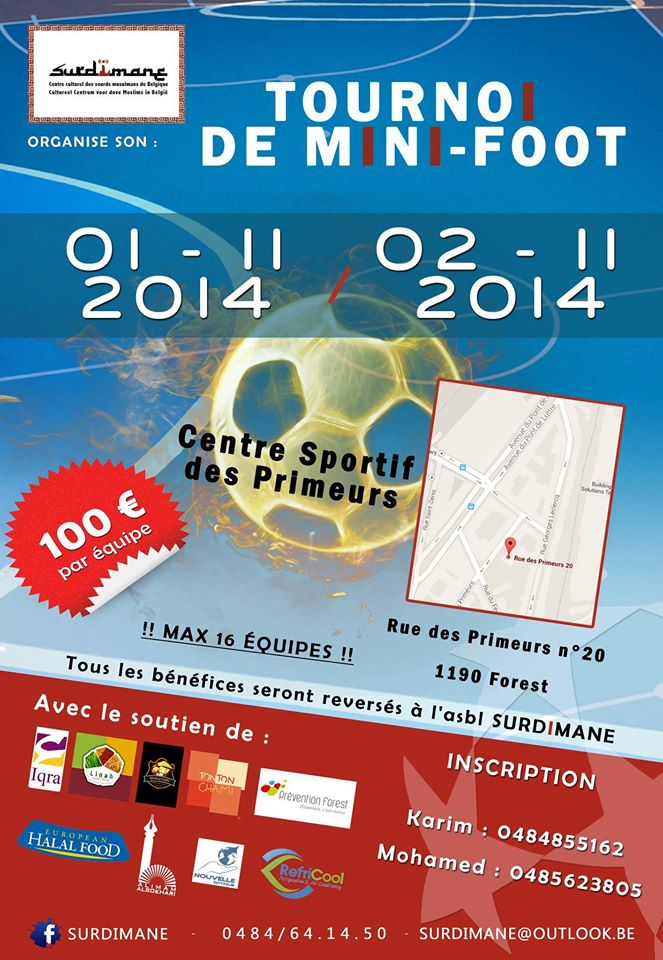 Tournoi de mini foot à forest