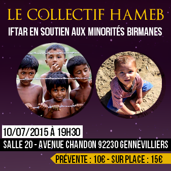 iftar solidaire pour les rohingyas